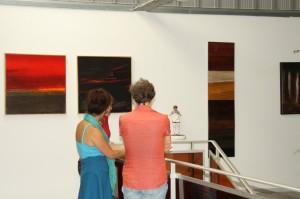 à la Zone d'Art, avec Ute Dreher et Caroline Riegert
